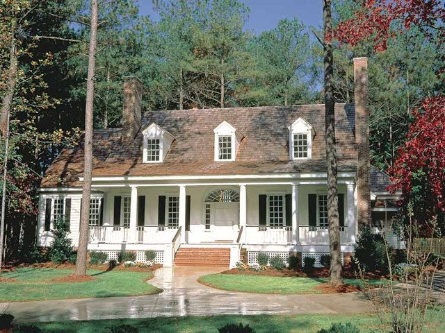 Traditional Exterior Cape Cod Colonial