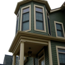Traditional Exterior by WJM Architect