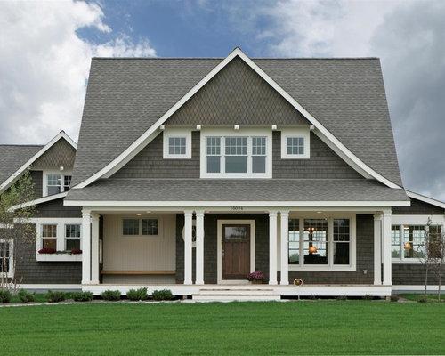 Cape Cod Front Porch Home Design Ideas Pictures Remodel
