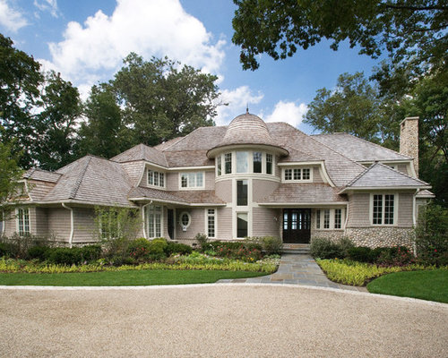 Cape Cod Stone And Shingle Style Lakefront House In Winnetka