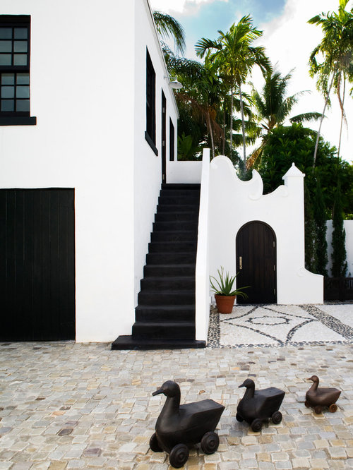 Peachy Black And White Exterior Ideas Pictures Remodel And Decor Largest Home Design Picture Inspirations Pitcheantrous