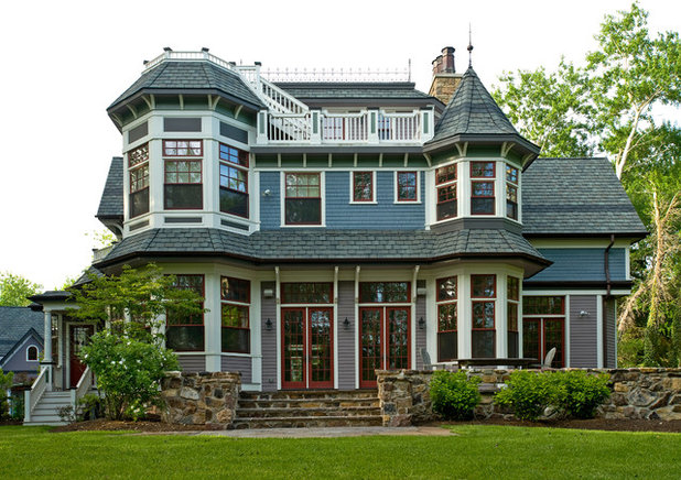 When to give your home a coat of many colors for Victorian traditional homes