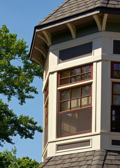 Traditional Exterior by Degnan Design Group + Degnan Design Build