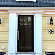 Traditional Exterior by Sapia Builders Corp.