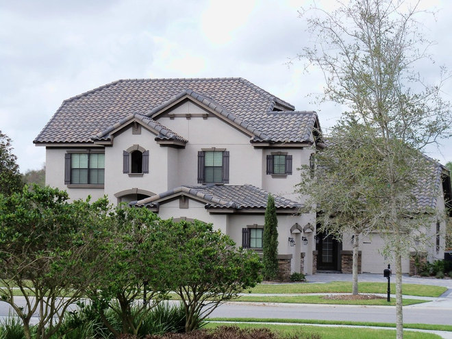 Mediterranean Exterior by Eagle Roofing Products