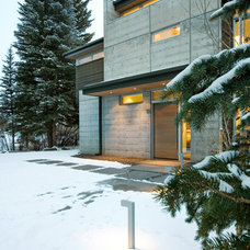 Modern Exterior by Kaegebein Fine Homebuilding