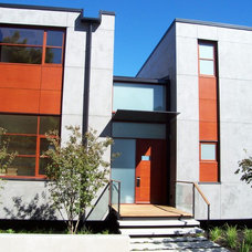 Contemporary Exterior by Charter Construction