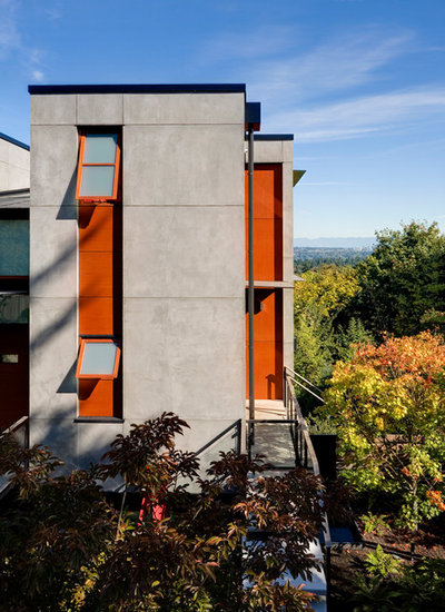 Contemporary Exterior by Prentiss Balance Wickline Architects