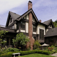 Traditional Exterior by Laurie Carron Architect, AIA I LEED GA