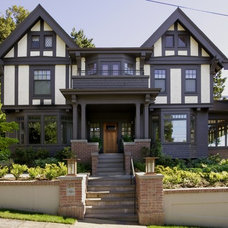 Craftsman Exterior by Laurie Carron Architect, AIA I LEED GA