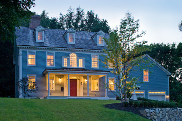 Traditional Exterior by Connor Homes