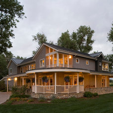 Traditional Exterior by roth sheppard architects