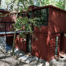 Modern Exterior by R.A.D. Design-Build
