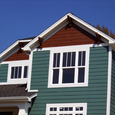 Traditional Exterior by TRG Communities