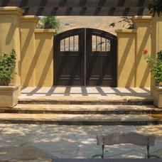 Mediterranean Exterior by Arterra Landscape Architects