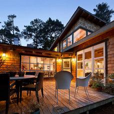 Contemporary Exterior by Lehman Design Studio
