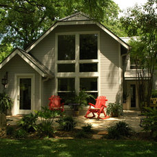 Traditional Exterior by Don Harris, Architect