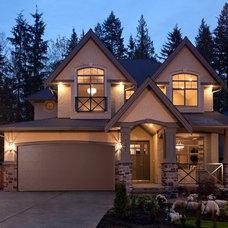 Traditional Exterior by Wallmark Custom Homes