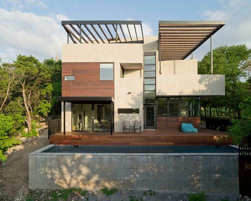 best contemporary exterior home design ideas remodel pictures houzz - Contemporary Home Design Ideas