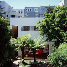 Eclectic Exterior by Cary Bernstein Architect