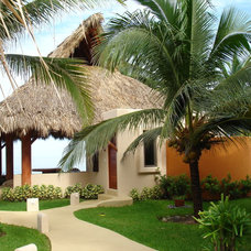 Tropical Exterior by Luis Trevino. Architect