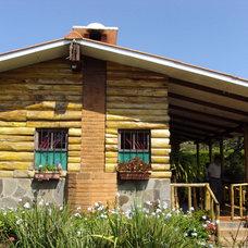 Tropical Exterior by Montserrat Farre
