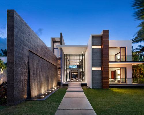 Ideas para fachadas dise os de fachadas en miami for Fachadas de casas en miami florida