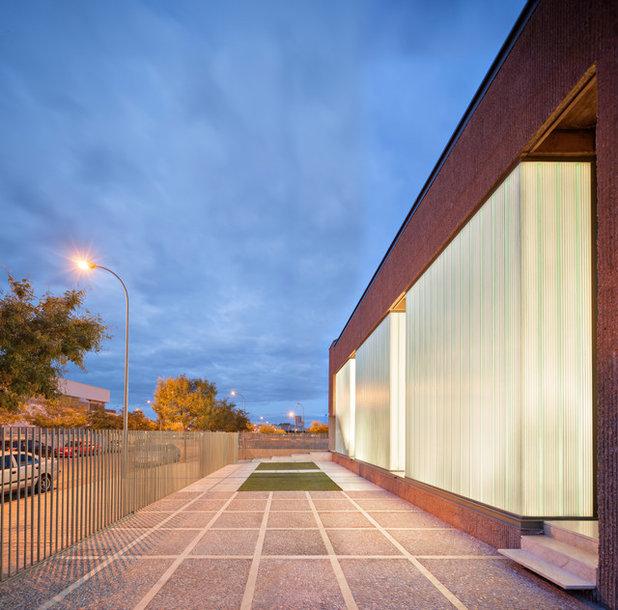 Architektur avantgardistisches betonhaus mit anleihen aus - Muka arquitectura ...