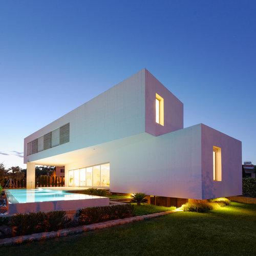 Casa arquitectura moderna houzz - Arquitectura moderna casas ...