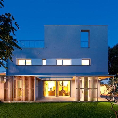 Foto e Idee per Facciate di case - facciata di una casa moderna