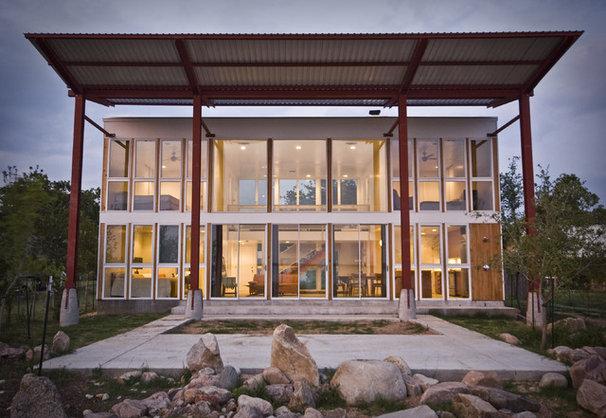 Contemporary Exterior by Merzbau Design Collective