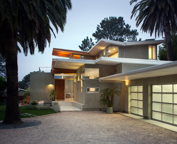 Contemporary Exterior by Architect  Heather Johnston