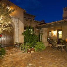Mediterranean Exterior by Casas del Oso Luxury Homes