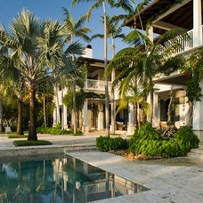 Tropical Exterior by Dorlom Construction