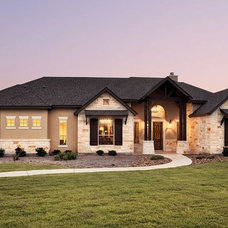 Traditional Exterior by Jimmy Jacobs Homes