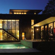 Modern Exterior Cascade House