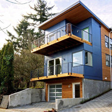 Contemporary Exterior by Method Homes