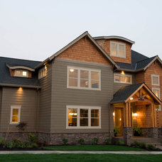 Traditional Exterior by dC Fine Homes & Interiors
