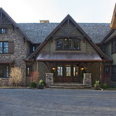 Traditional Exterior by The Berry Group