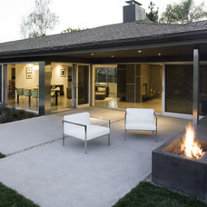 Midcentury Exterior by Modal Design