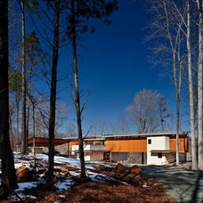 Contemporary Exterior by Ellen Cassilly Architect