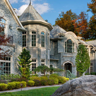 Inspiration for a timeless exterior home remodel in Newark