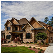 Traditional Exterior by Southern Studio Interior Design