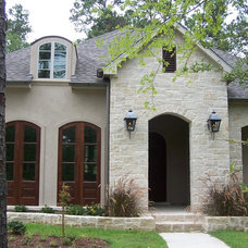 Traditional Exterior by Sanders Architecture & Design