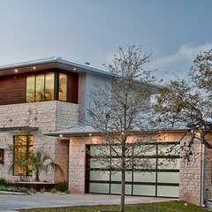 contemporary exterior by Greenbelt Homes