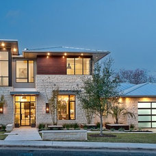 Contemporary Exterior by Greenbelt Construction