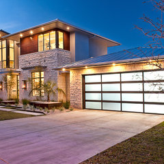modern exterior by Cornerstone Architects