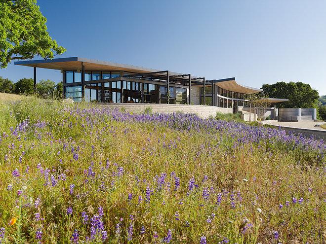 Contemporary Exterior by Feldman Architecture, Inc.