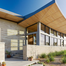 Contemporary Exterior by Jeffers Design Group