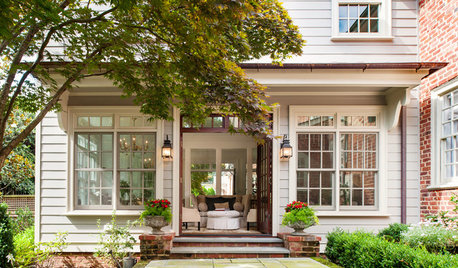 Houzz Tour: A Redesign and a Pitch-Perfect Addition Revive a 1930s Home